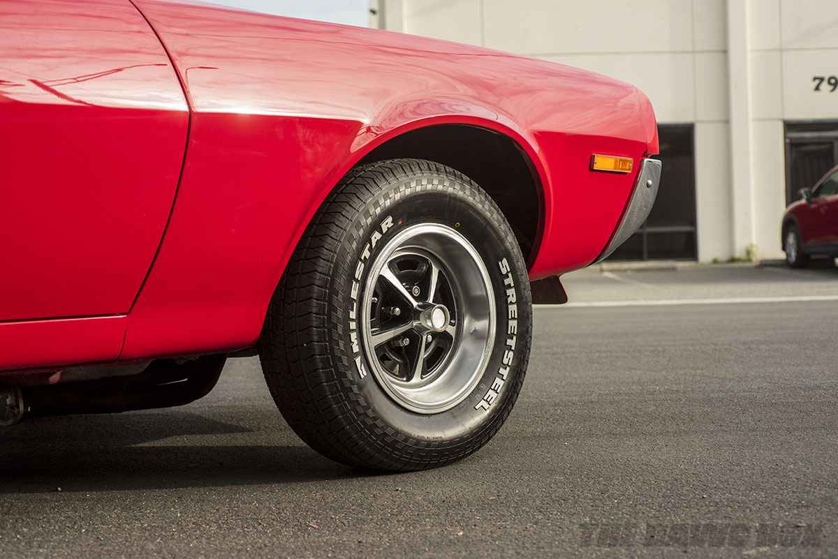 1970 AMC Javelin with Milestar Streesteel tires
