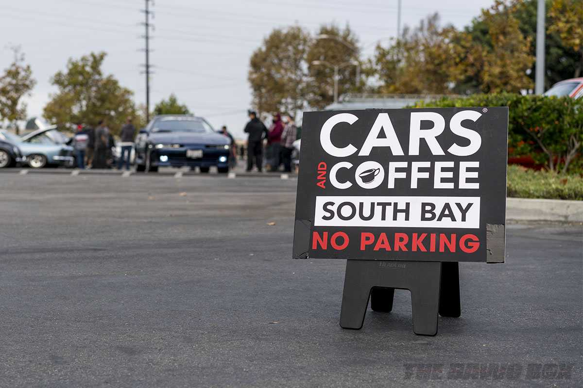 Cars and Coffee at South Bay Sunday