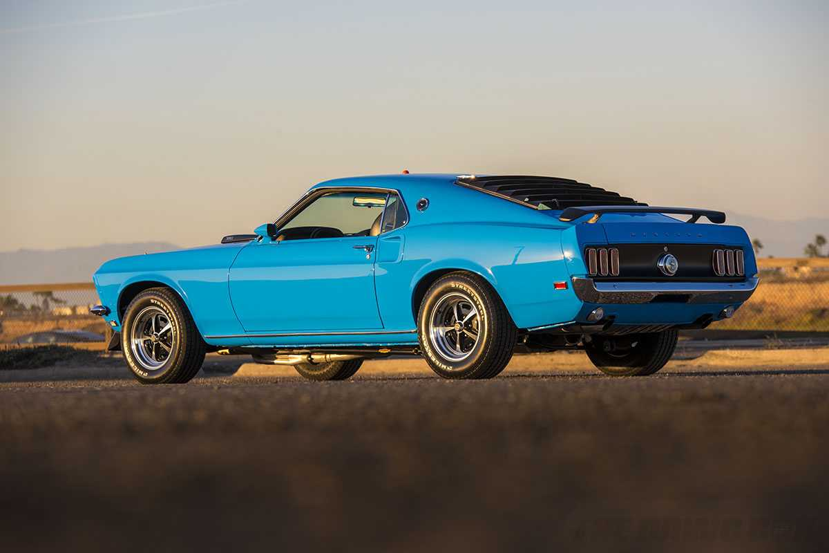 Modified 1969 Mach 1 Ford Mustang