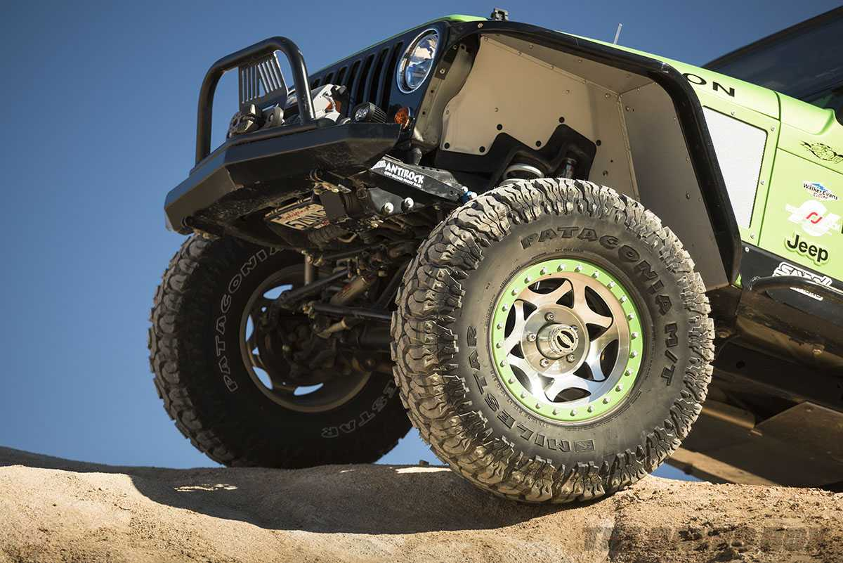 Modified 2006 Jeep Wrangler Rubicon Unlimited LJ with Patagonia M/Ts