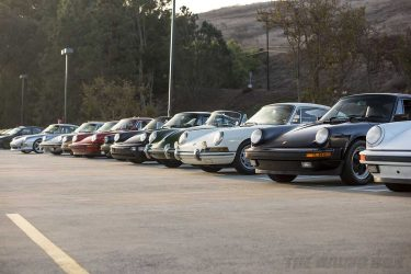 Porsches, Cars and Coffee Pelican Parts