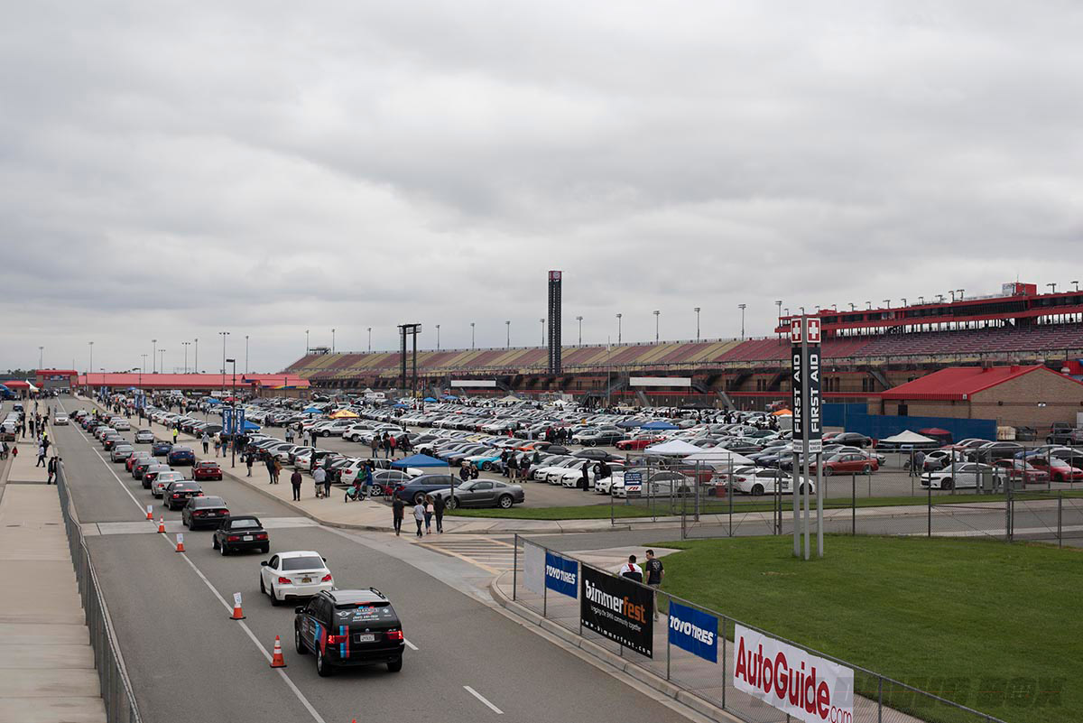 Bimmerfest, View of Event