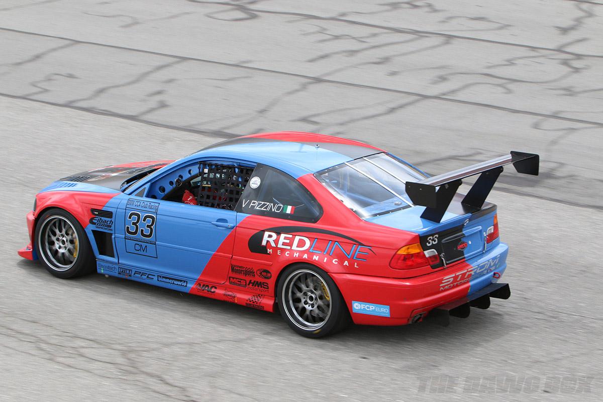 Bimmerfest, Race Car