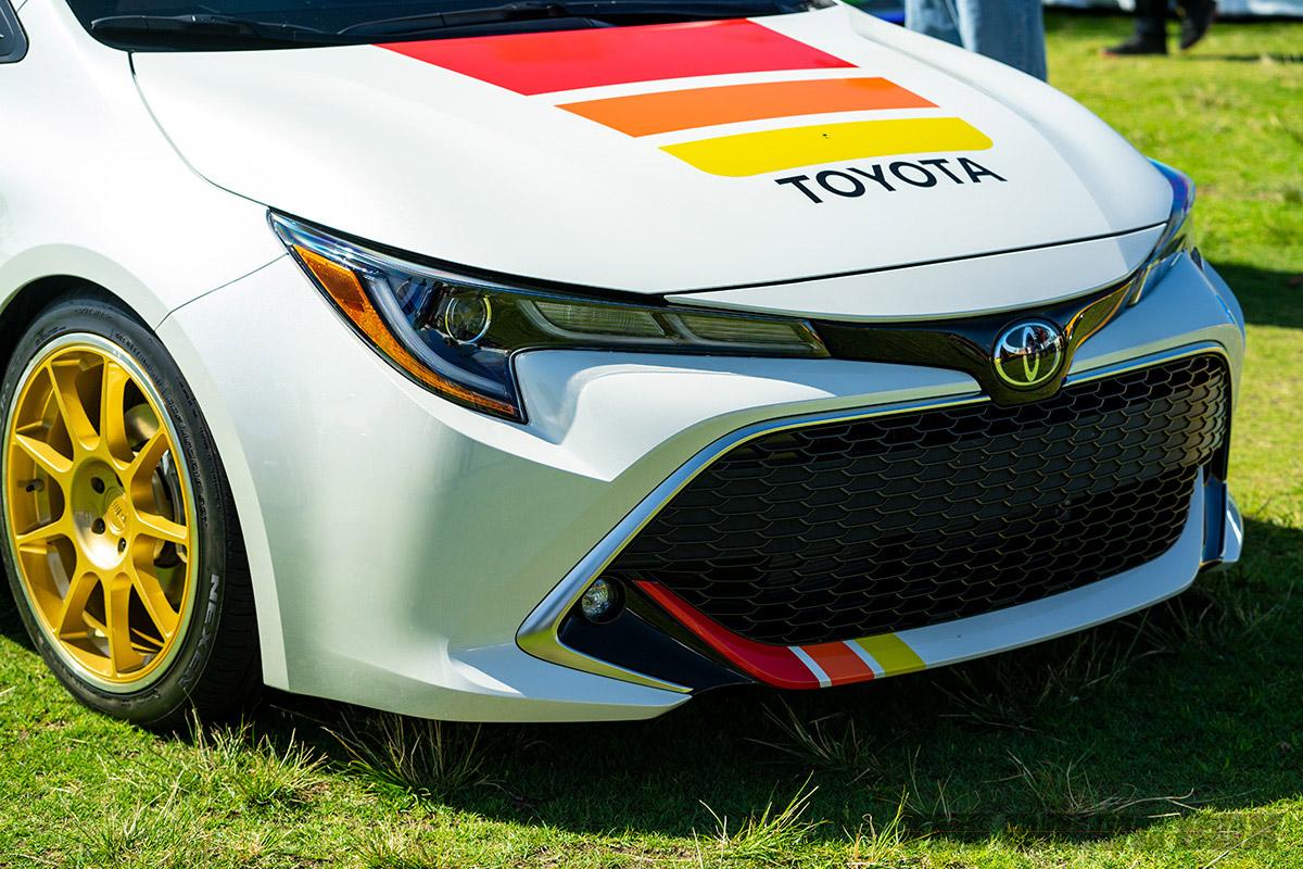 2018 Toyota Fest, Colored Hood & Bumper