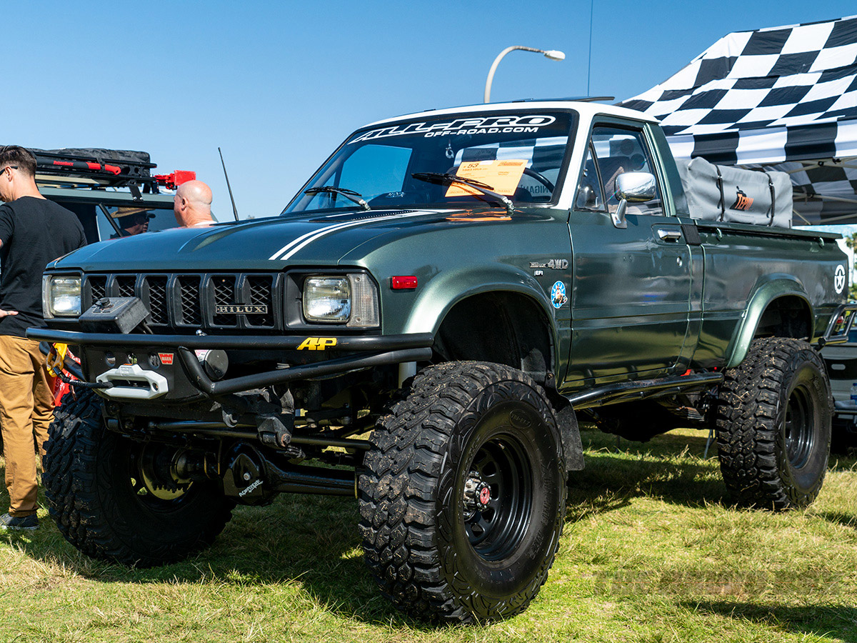 2018 Toyota Fest, Lifted Truck
