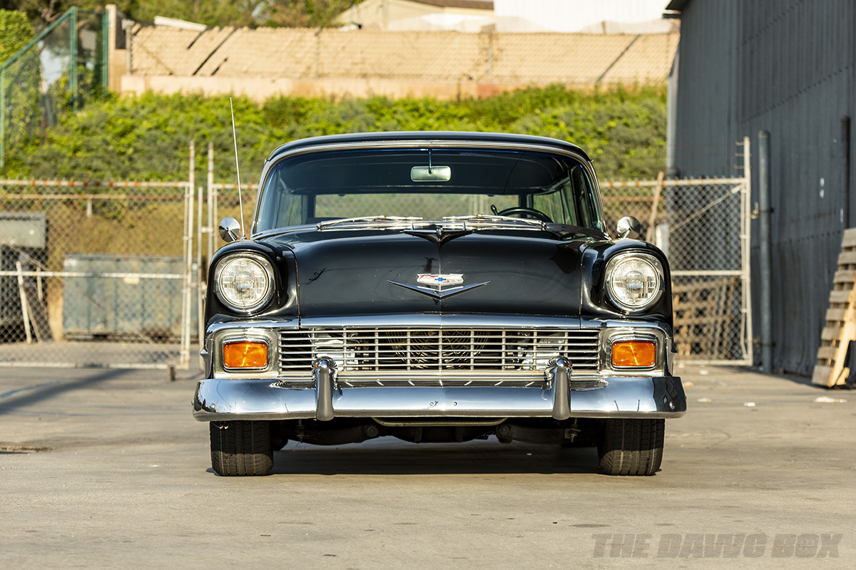 1956 Chevy Nomad front shot