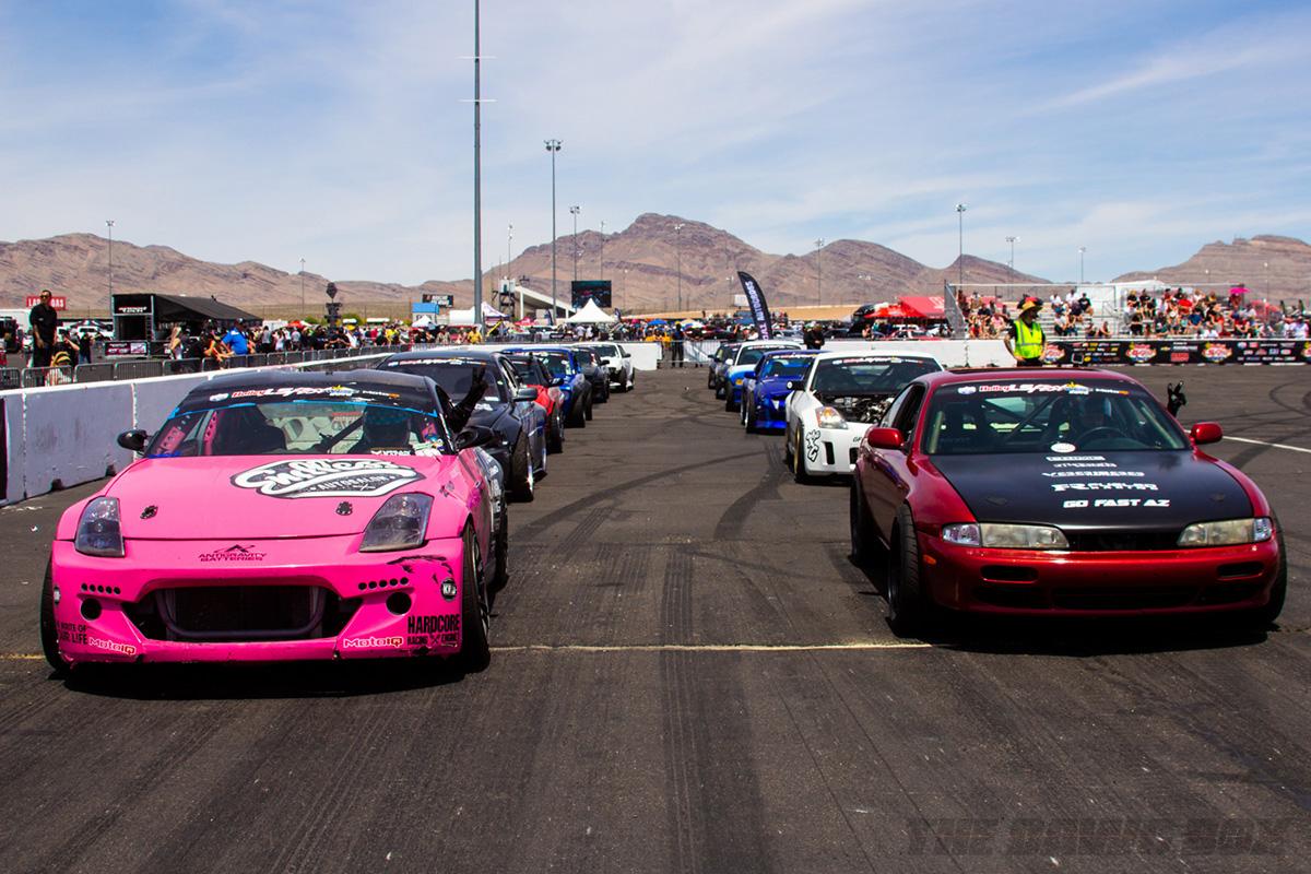 LS Fest West, Line of Cars Photo Credit: Justin Banner