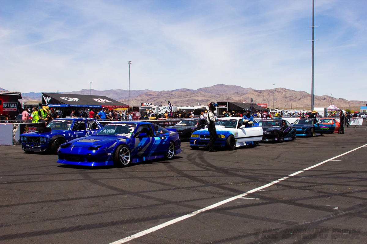 LS Fest West, Cars In Line Photo Credit: Justin Banner