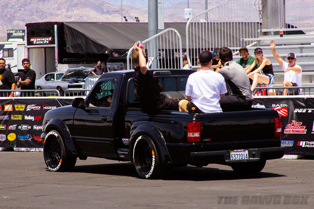 LS Fest West, Guys in Truck Bed Photo Credit: Justin Banner