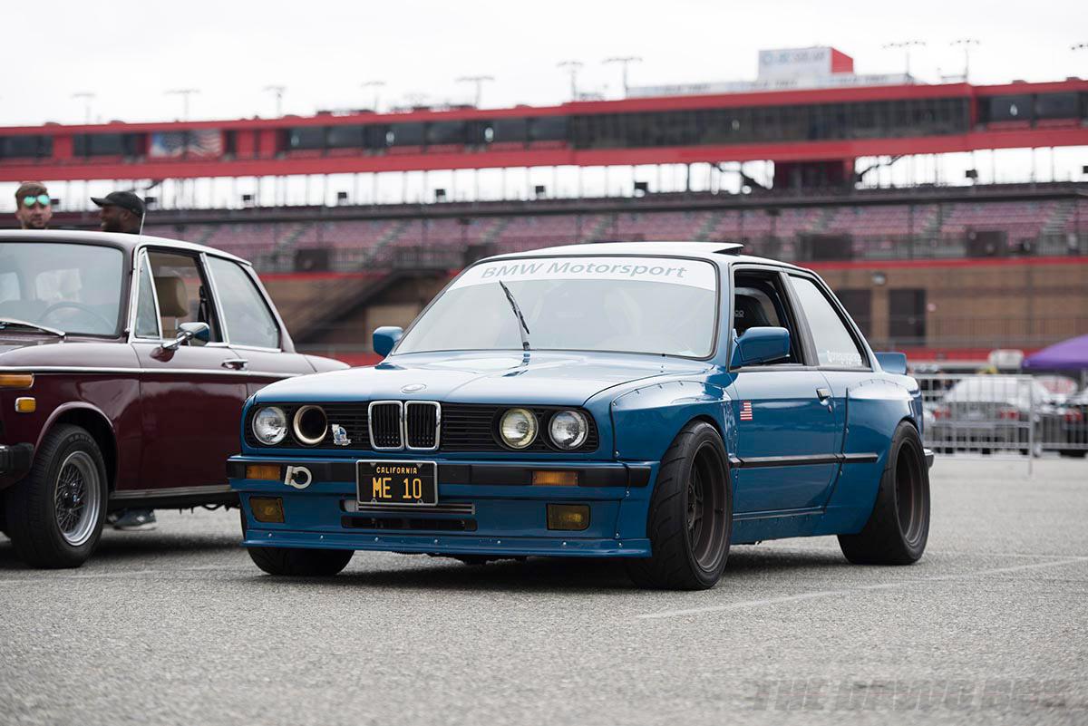 Wide Body Pandem Kit Blue BMW E30 325is