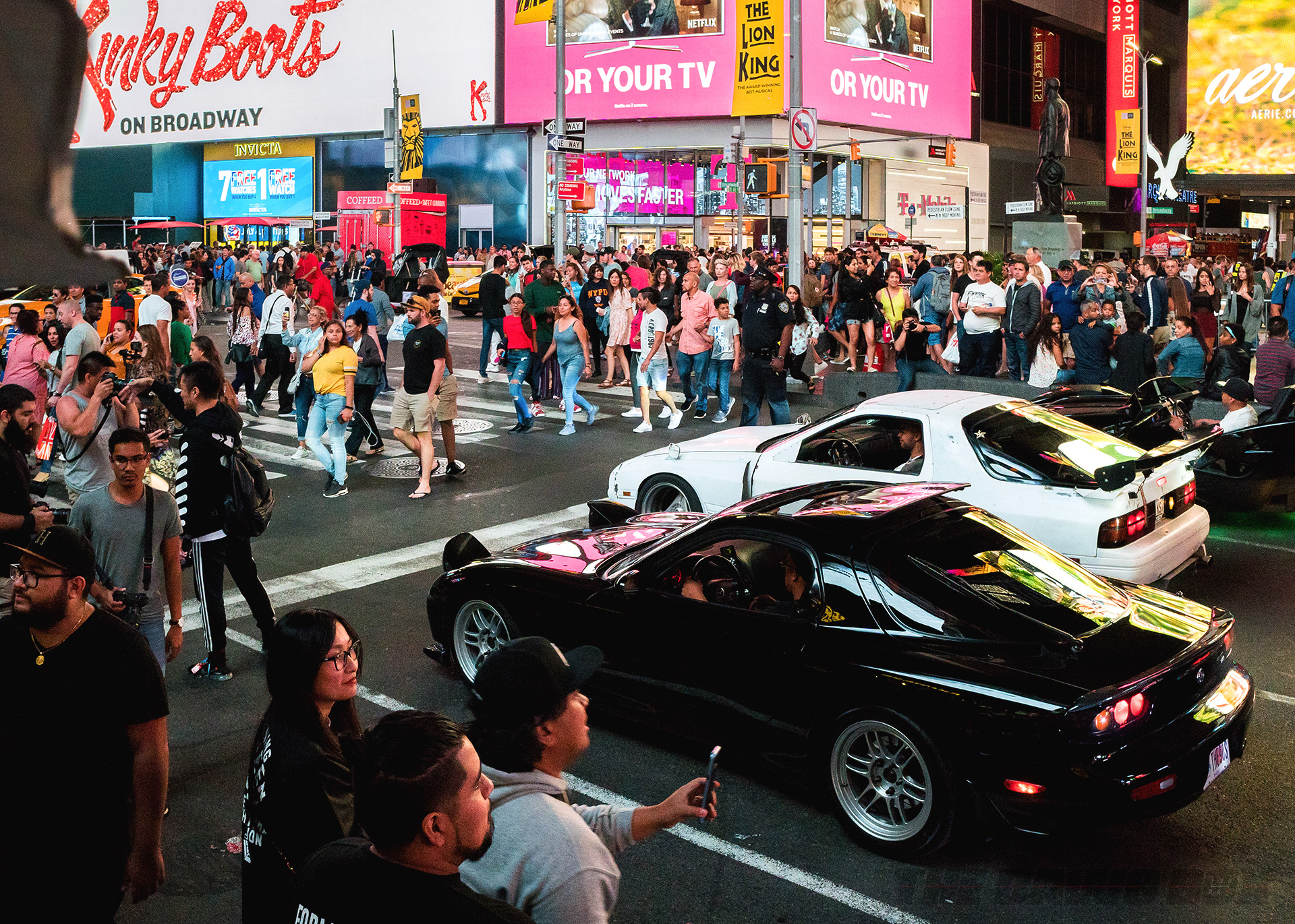 7's Day 2018, Mazdas In Times Square
