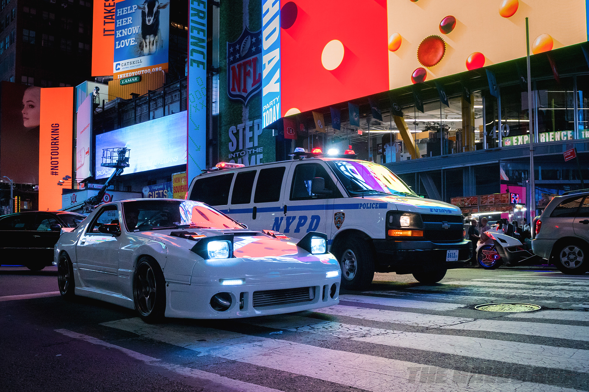 7's Day 2018, Mazda & NYPD