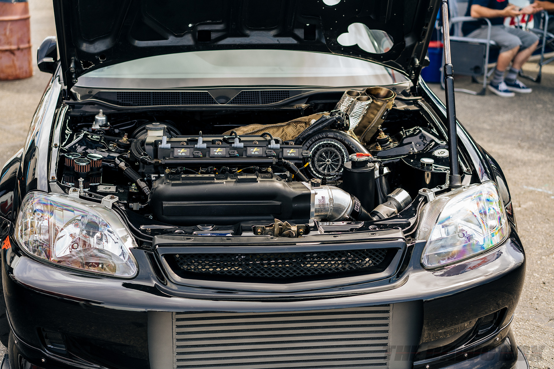 14th Annual Eibach Honda Meet, Turbocharged Civic