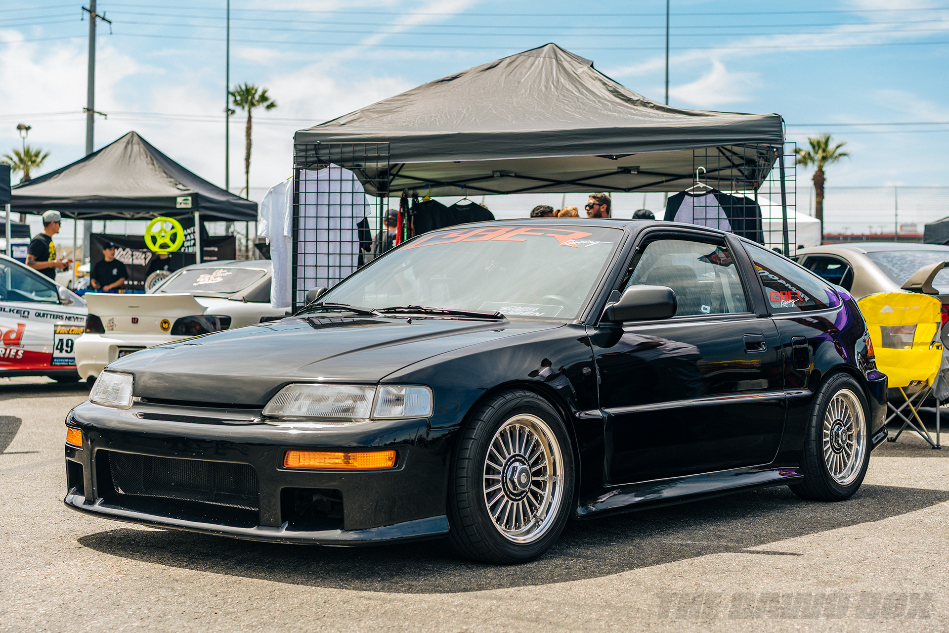 14th Annual Eibach Honda Meet, Honda CRX