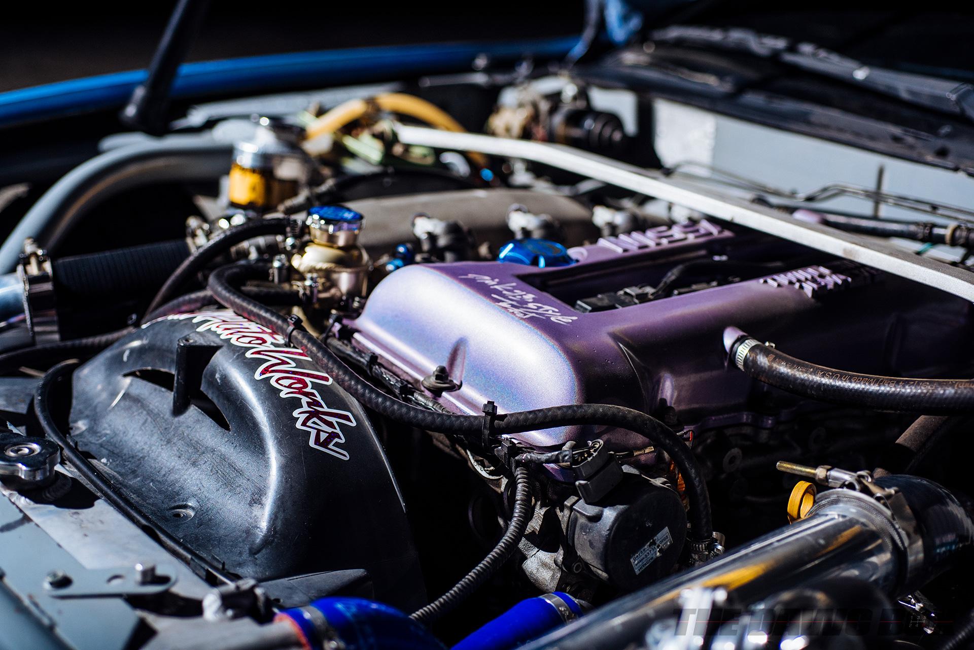Brian Macias' 1989 Nissan 240SX S13 Coupe, SR20DET Engine
