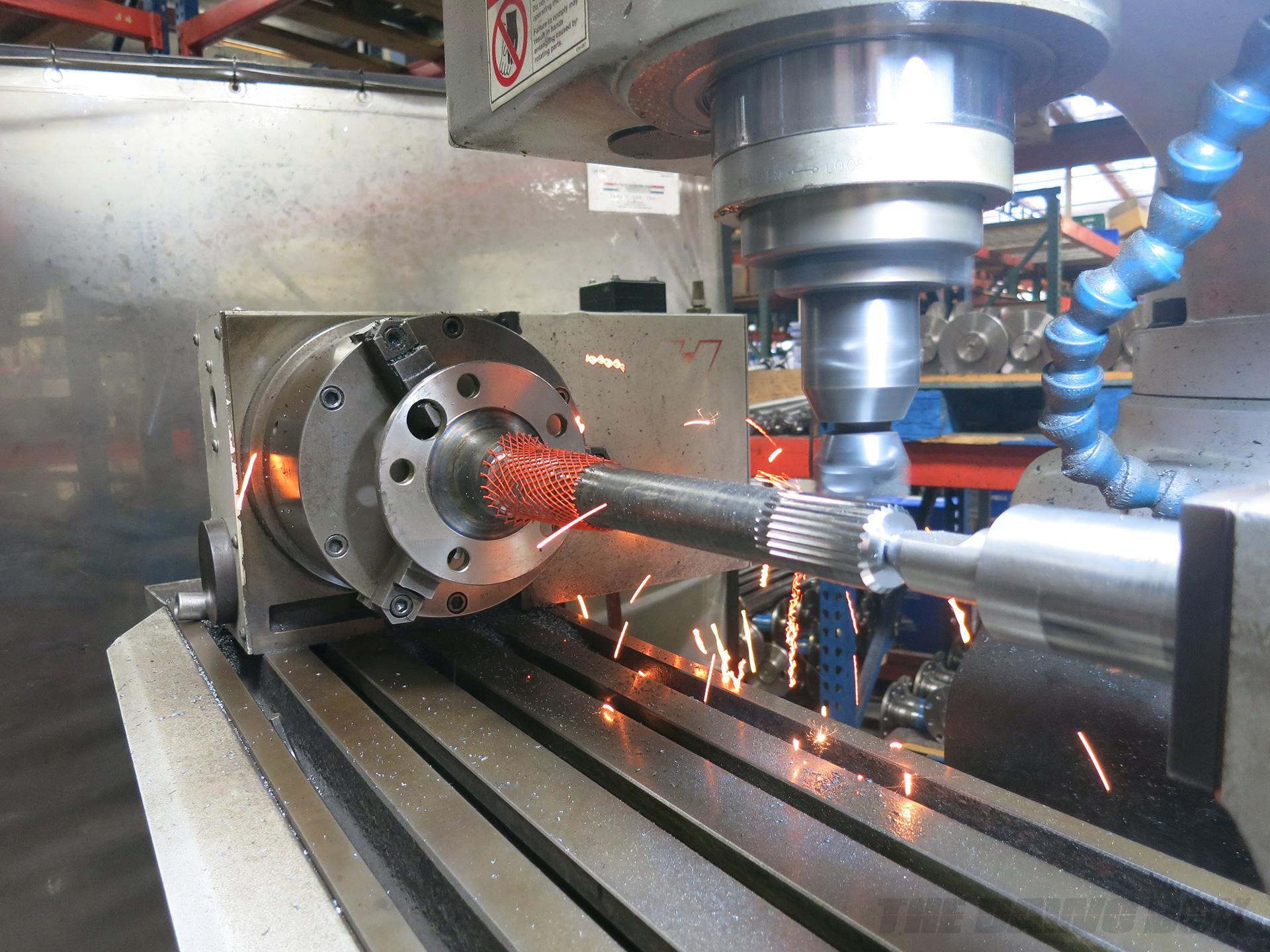 Currie Enterprises, CNC Axle Splitting Machine