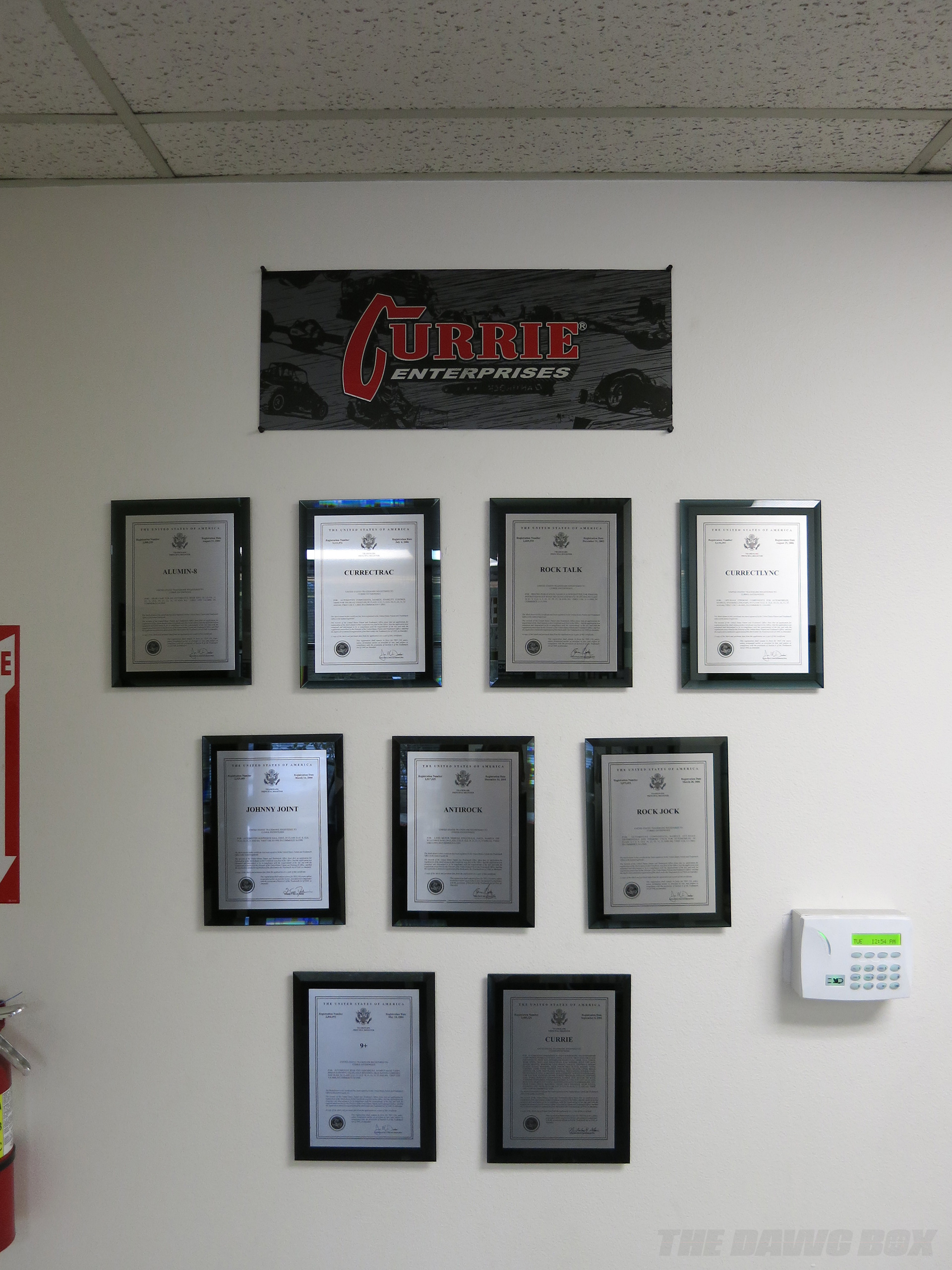 Currie Enterprises, Trademarked Names