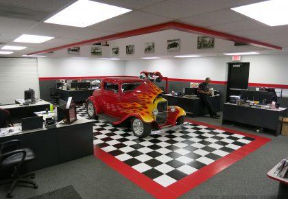 Currie Enterprises, Sales Office