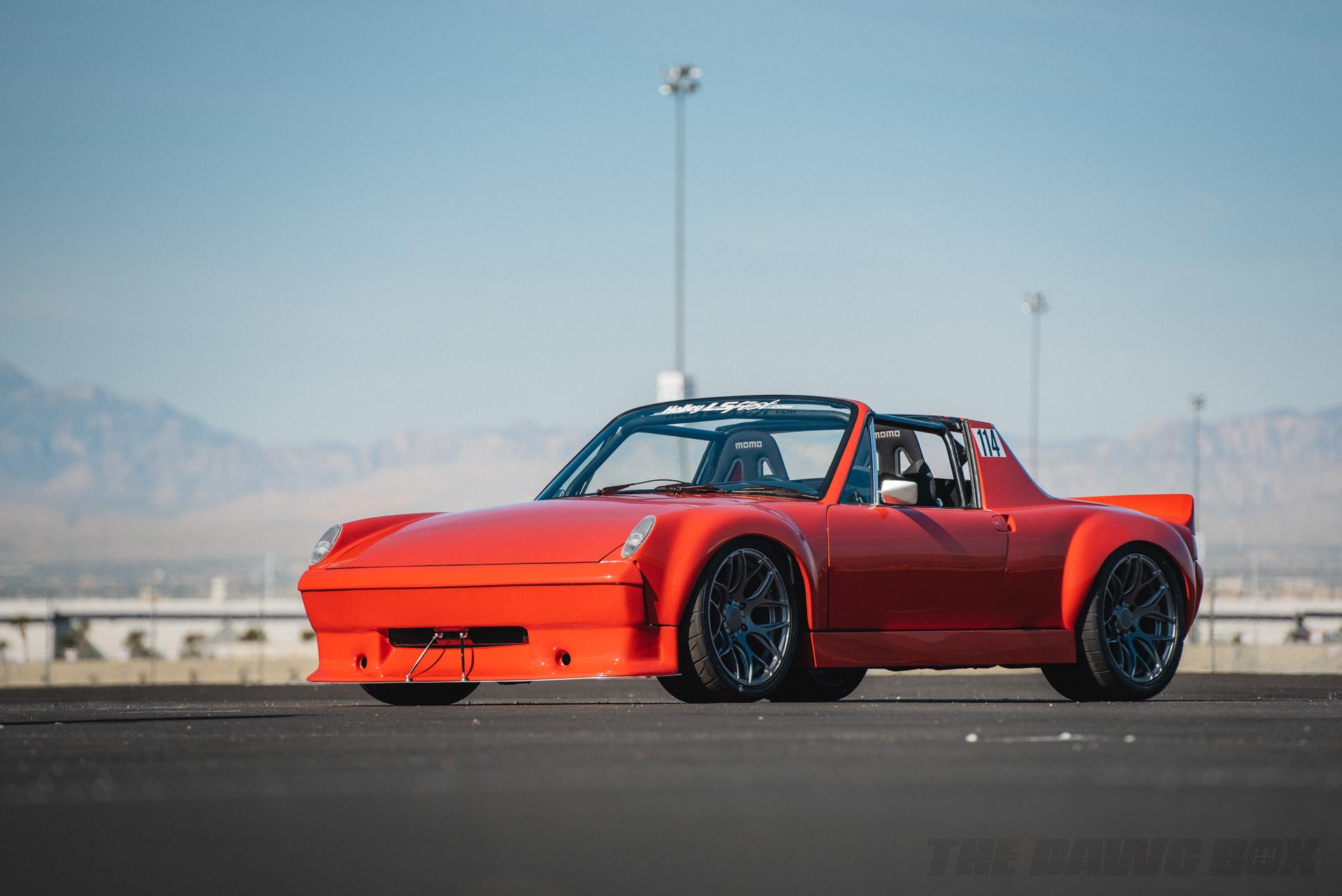 Orange LS swapped sports car