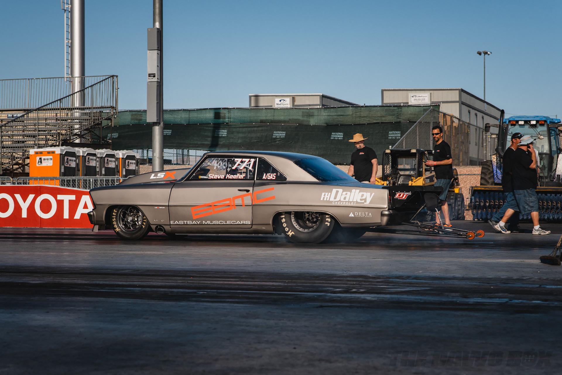 Chevy Impala drag car