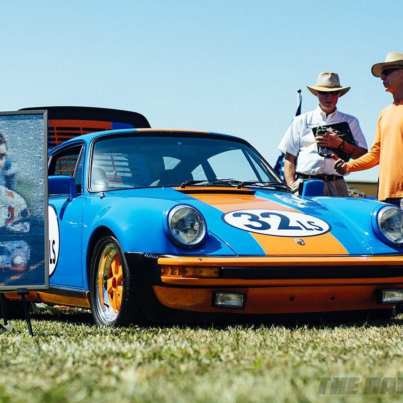 Friends of Steve McQueen Car Show, Porsche 930