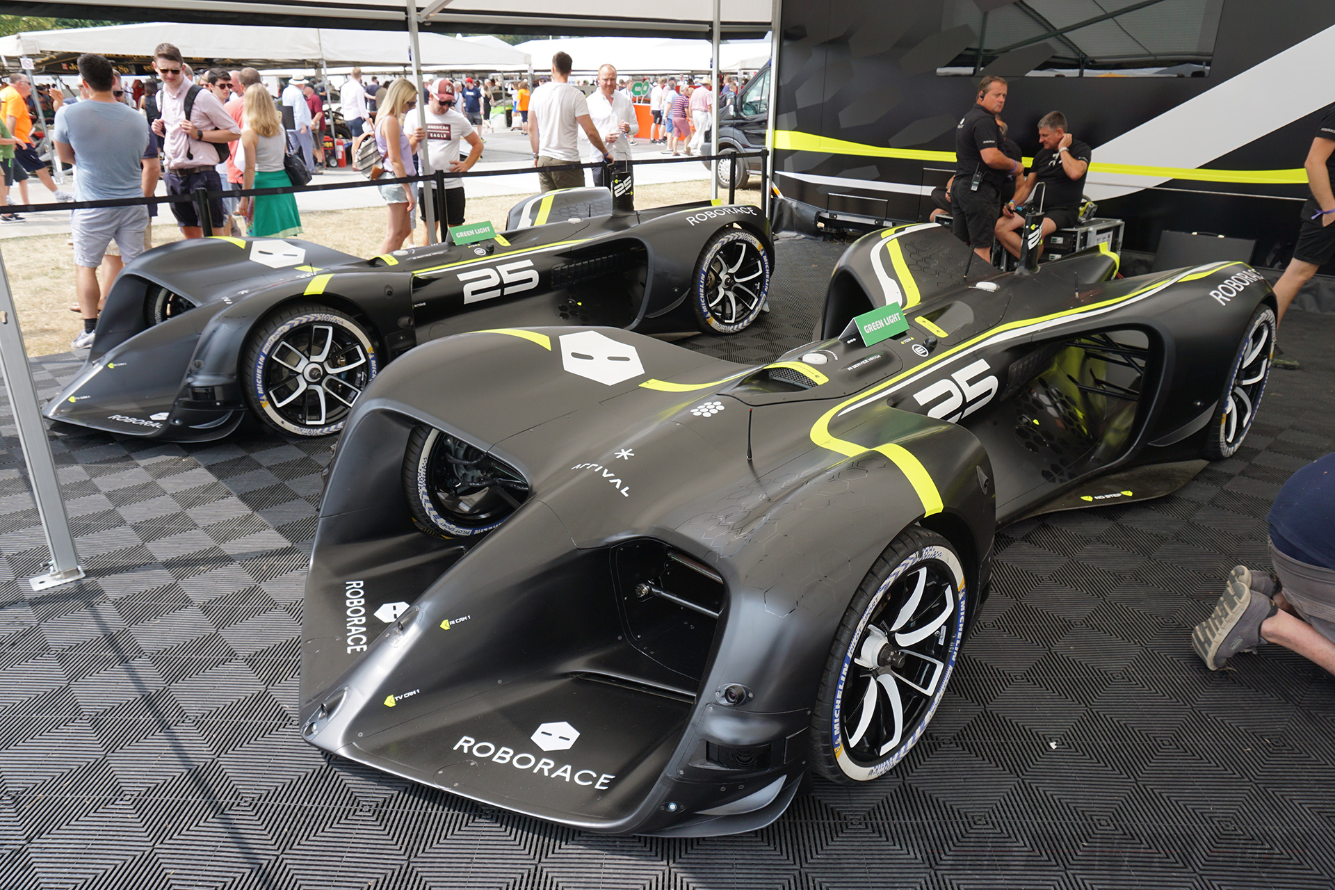 Goodwood FOS, Conceptual Racecars