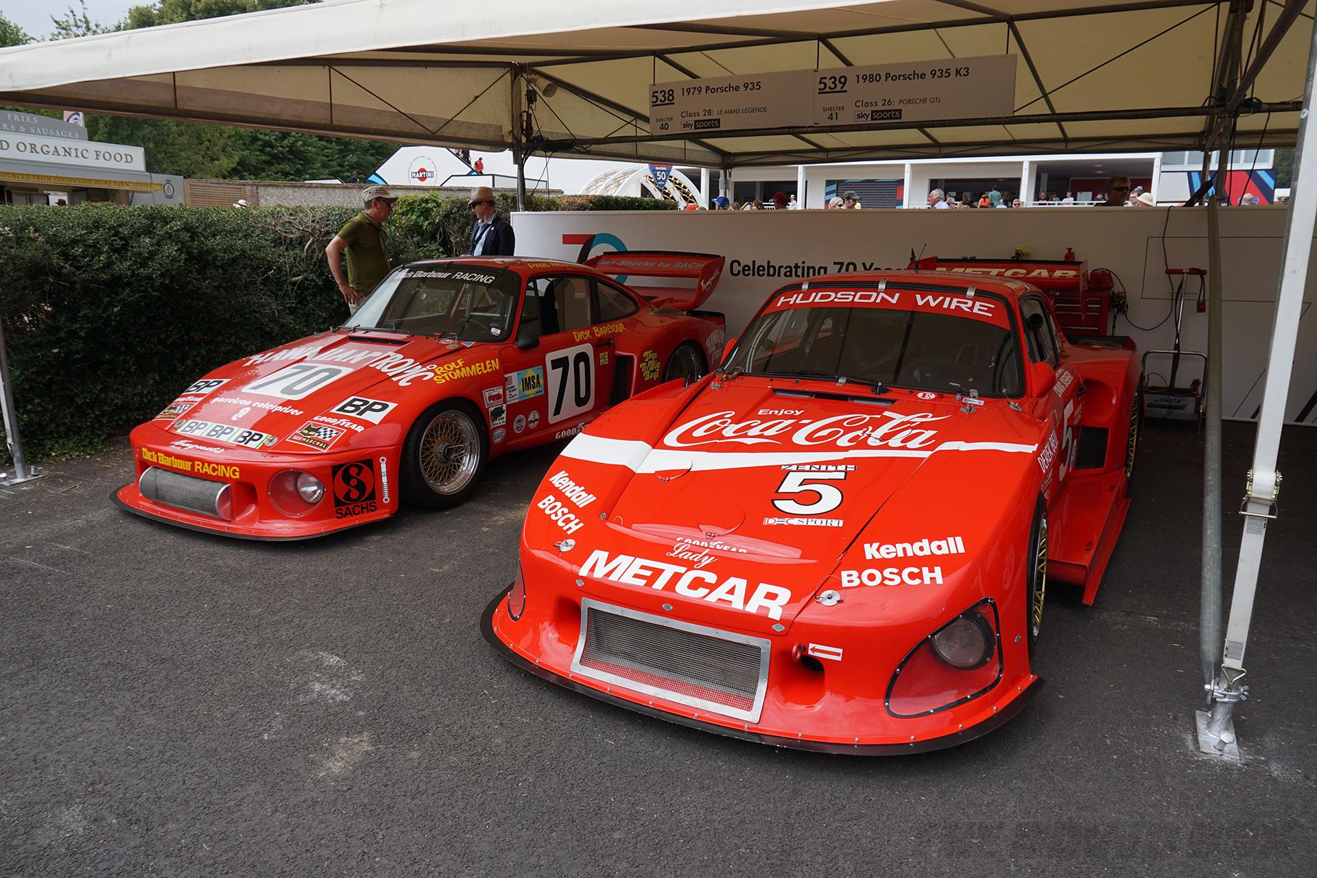 Goodwood FOS, Porsche 935 & 935 K3