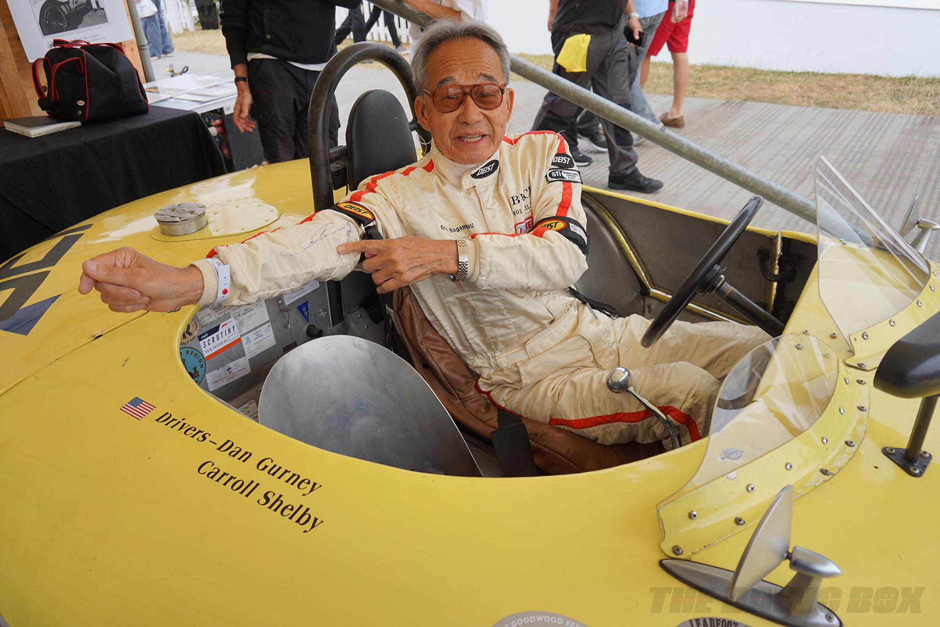Goodwood FOS, Autographed Race Suit