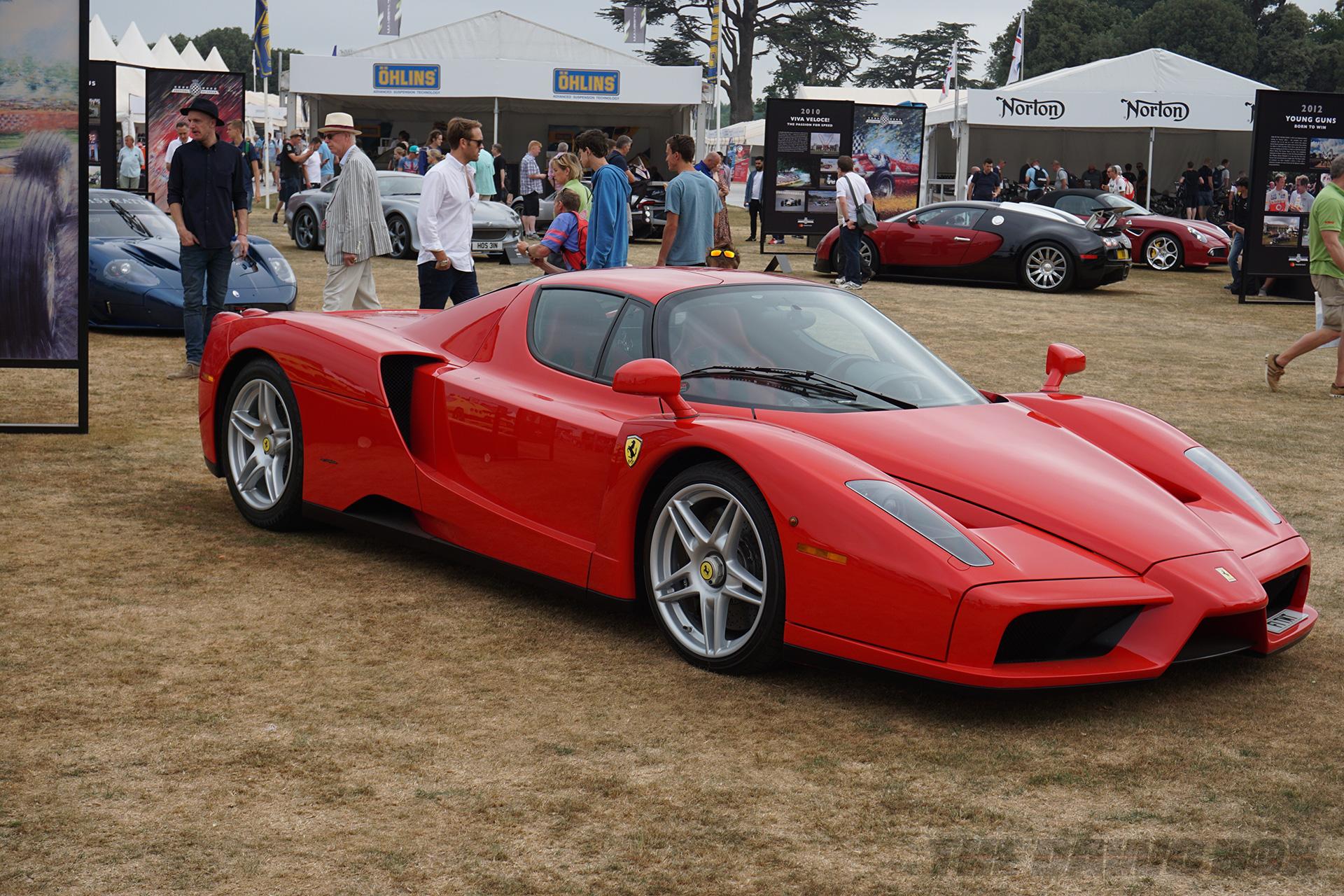 Goodwood FOS, Ferrari Enzo