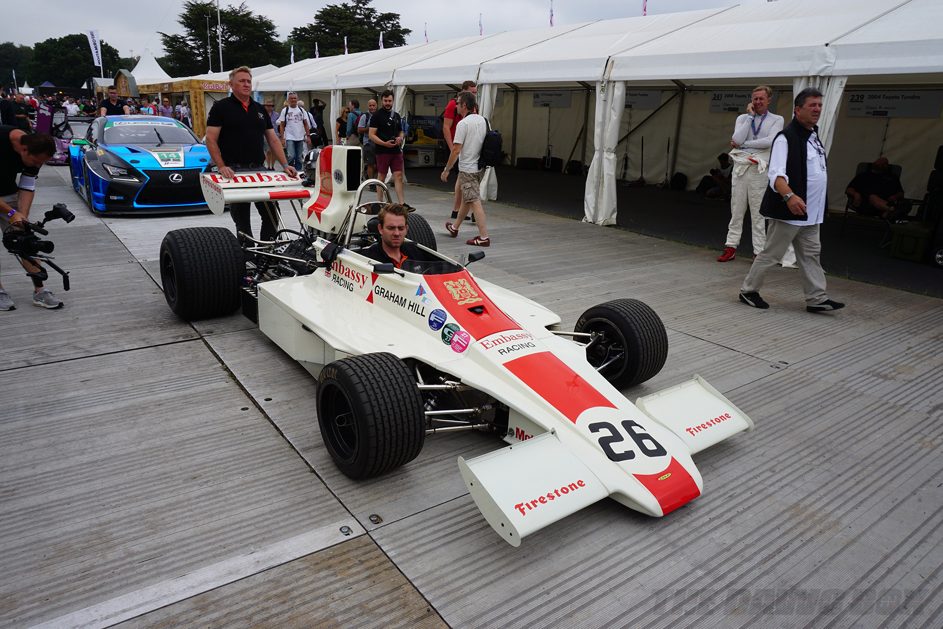 Goodwood FOS, F1 Car