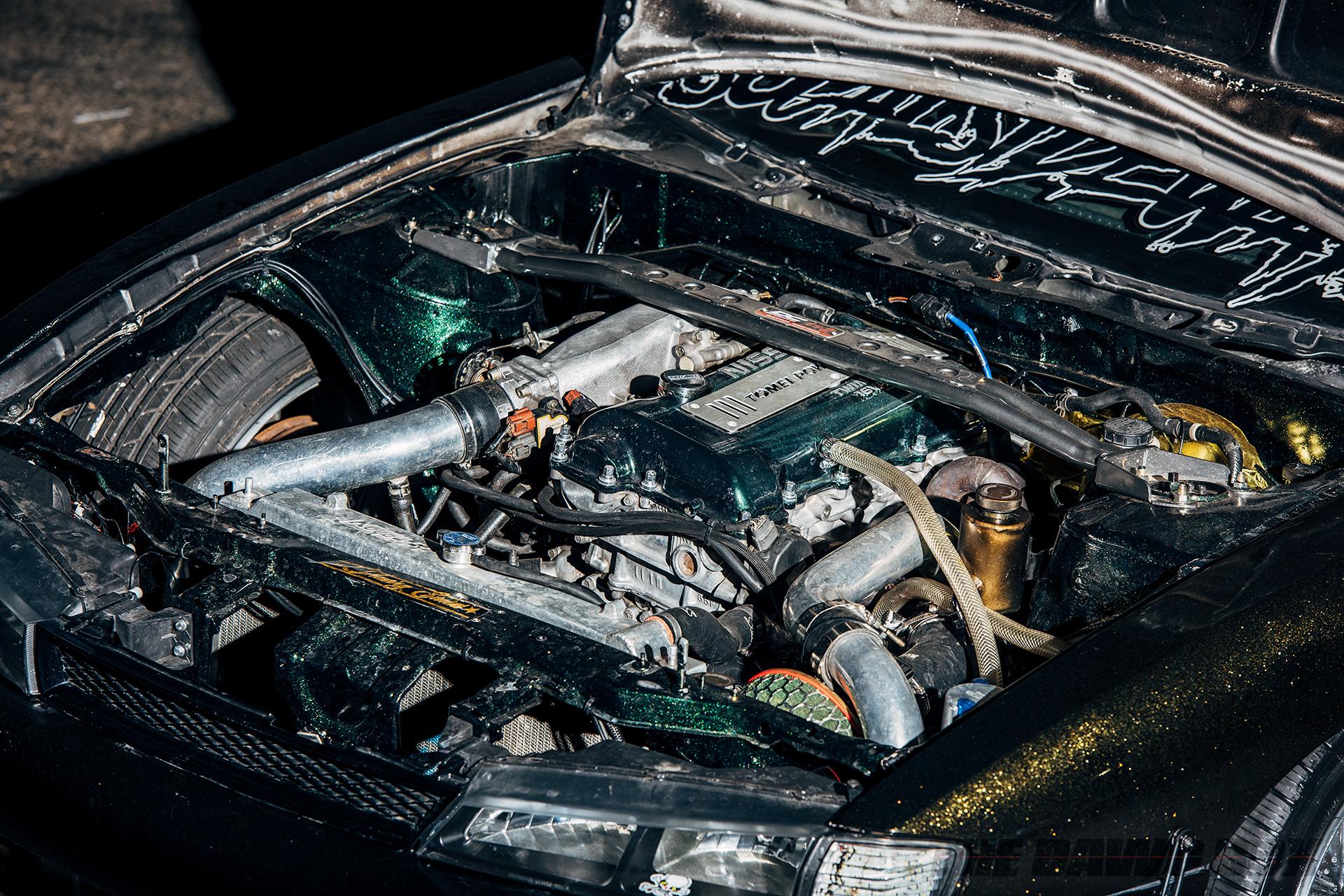 1997 Nissan 240SX modified SR20DET Engine