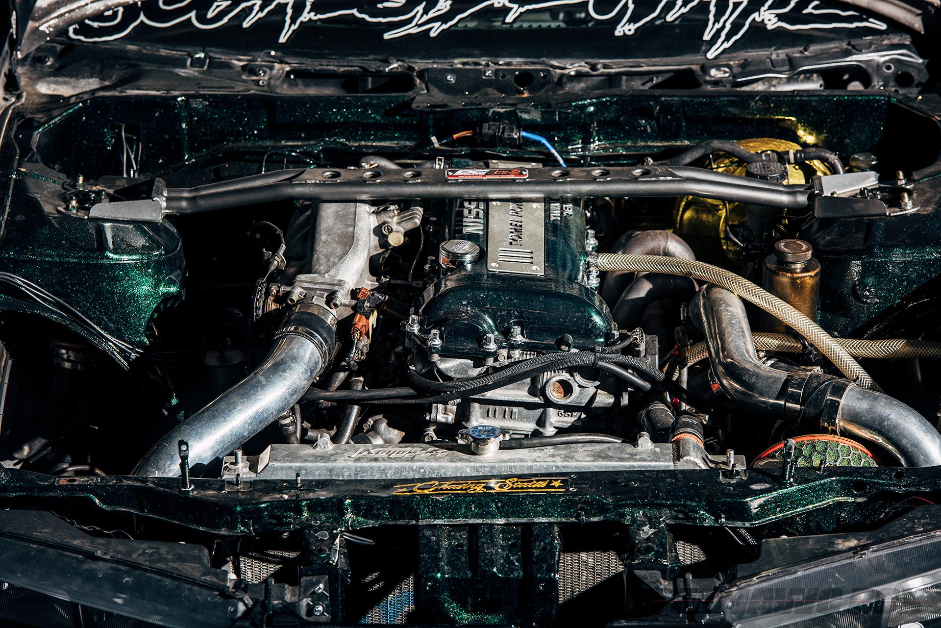 '97 Nissan 240SX modified SR20DET Engine