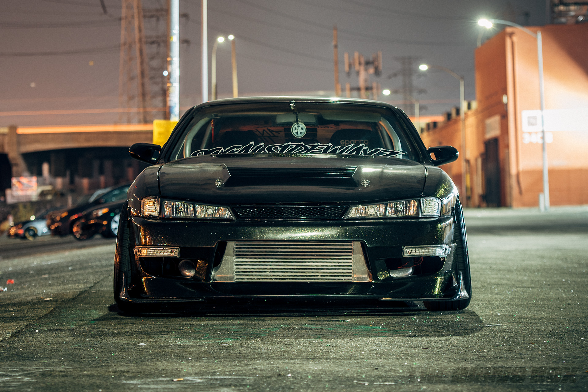 '97 nISSAN 240sx S14 Front View