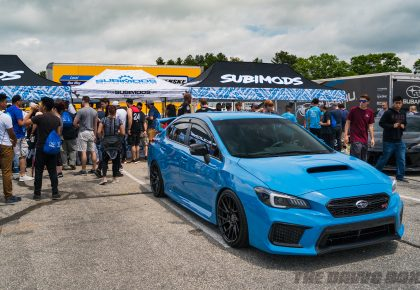 Wicked Big Meet, Blue STI