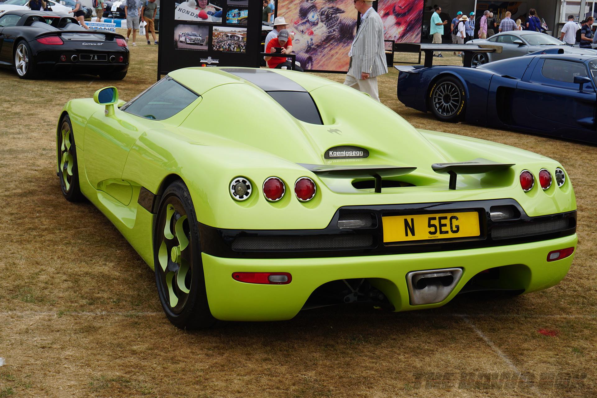 Goodwood FOS, Green Koenigsegg