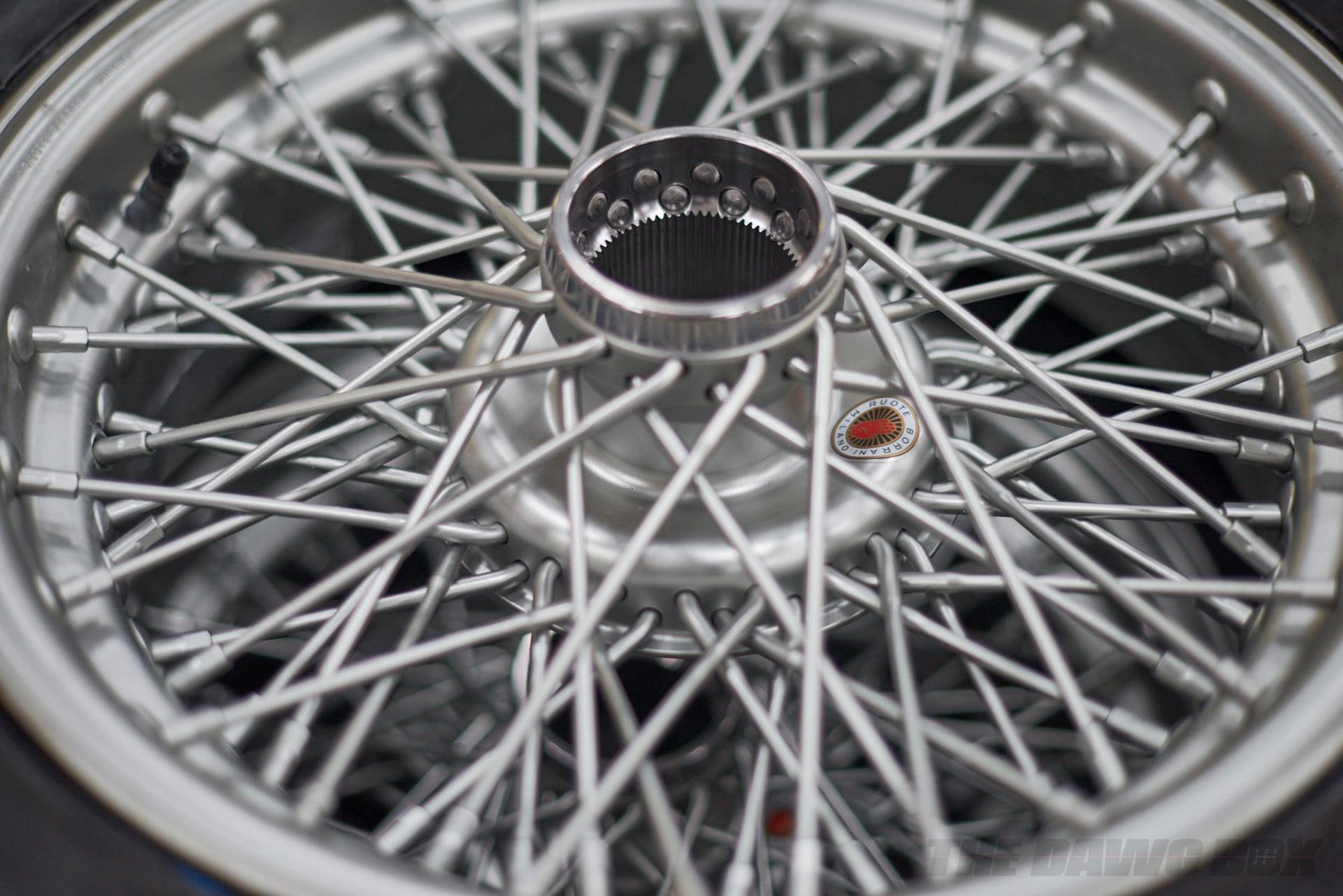 """Borrani 16"""" Wire Wheel"""