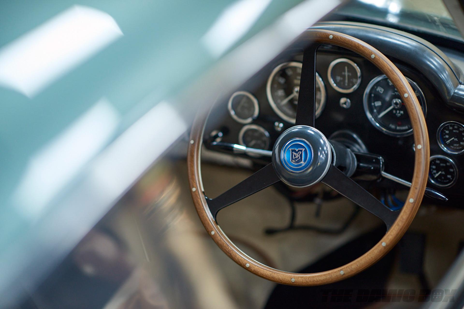 DB4 Steering Wheel