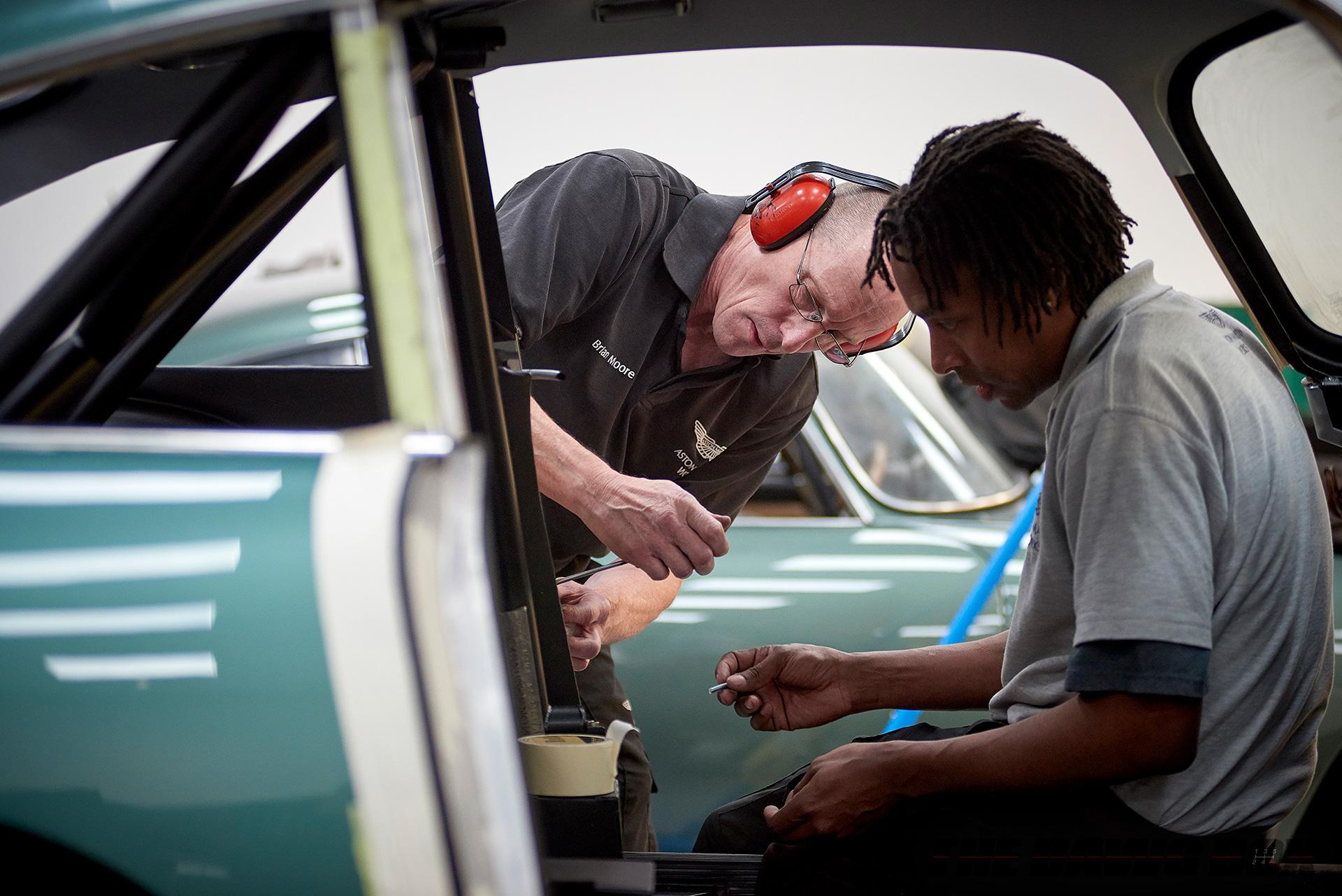 Aston Martin Technicians