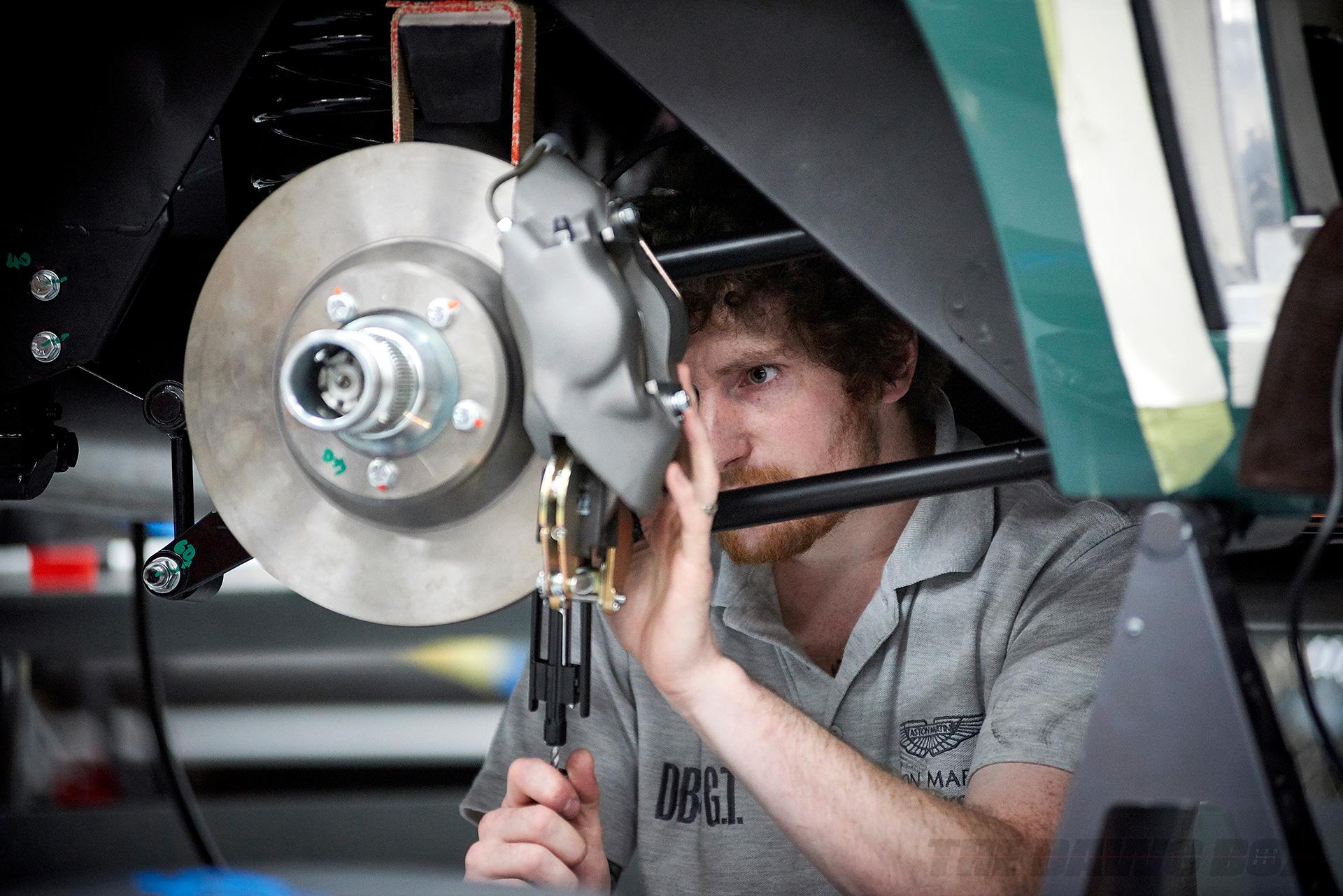 Aston Martin Technician