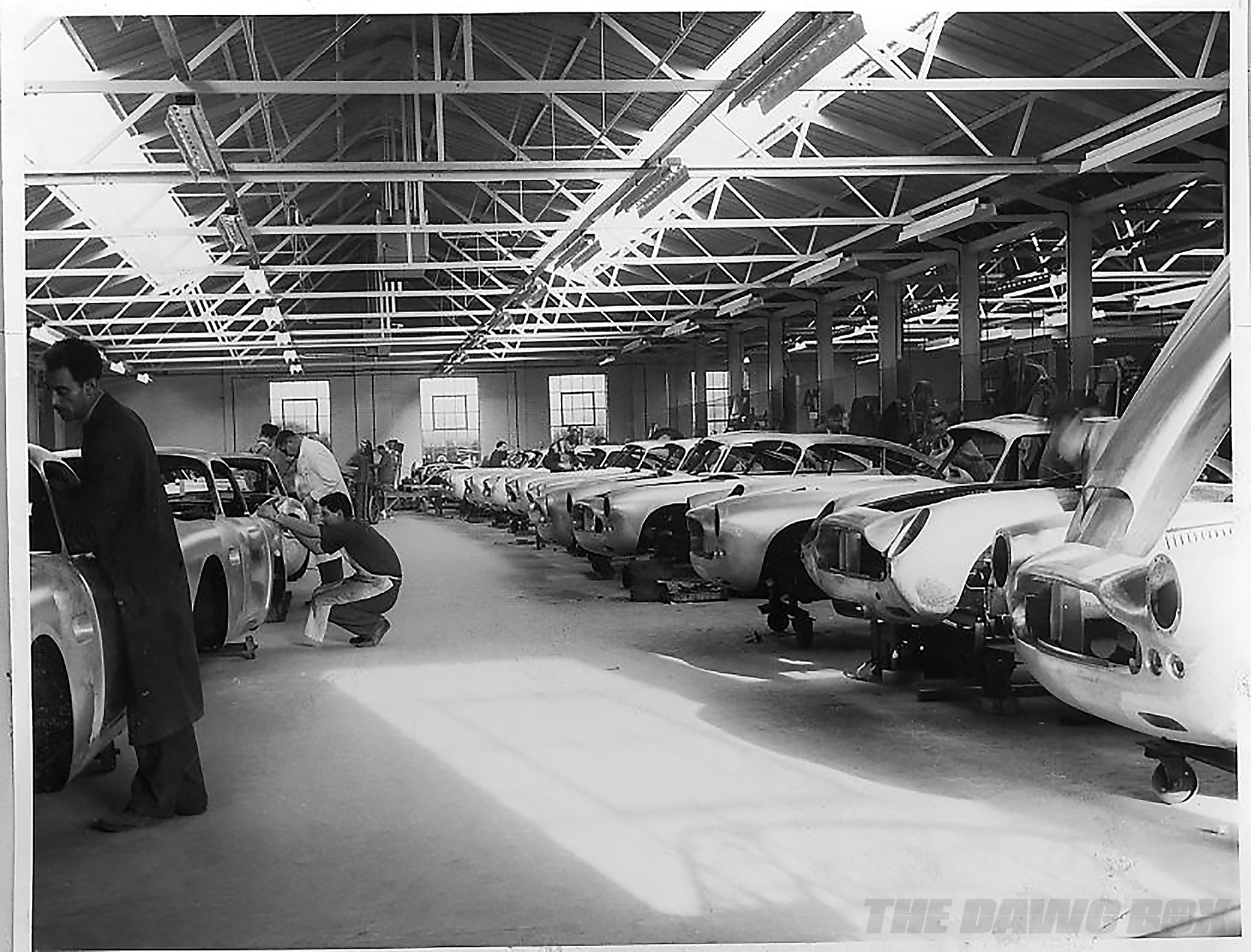 Inside the Aston Martin shop