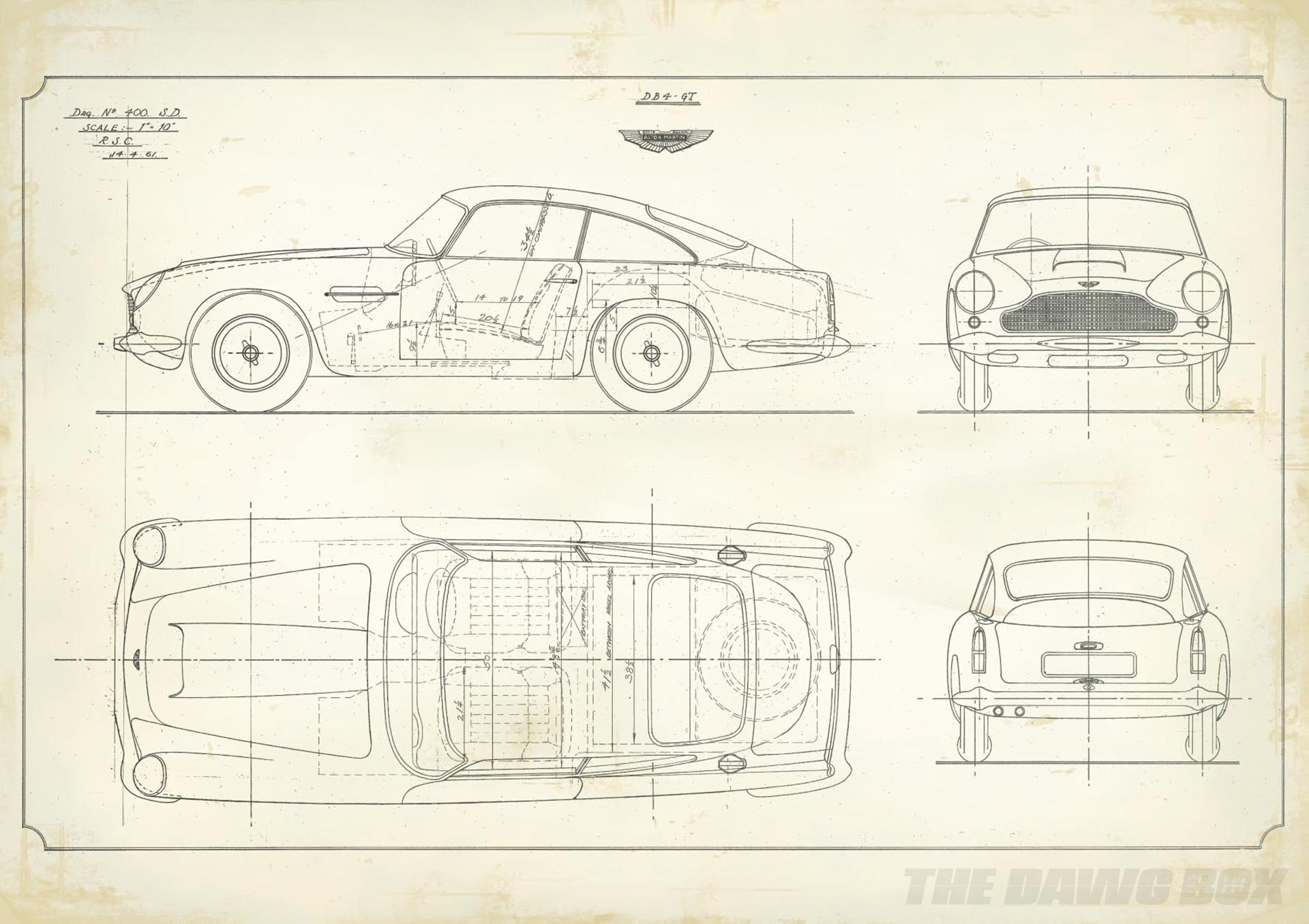 DB4 Tech Drawing