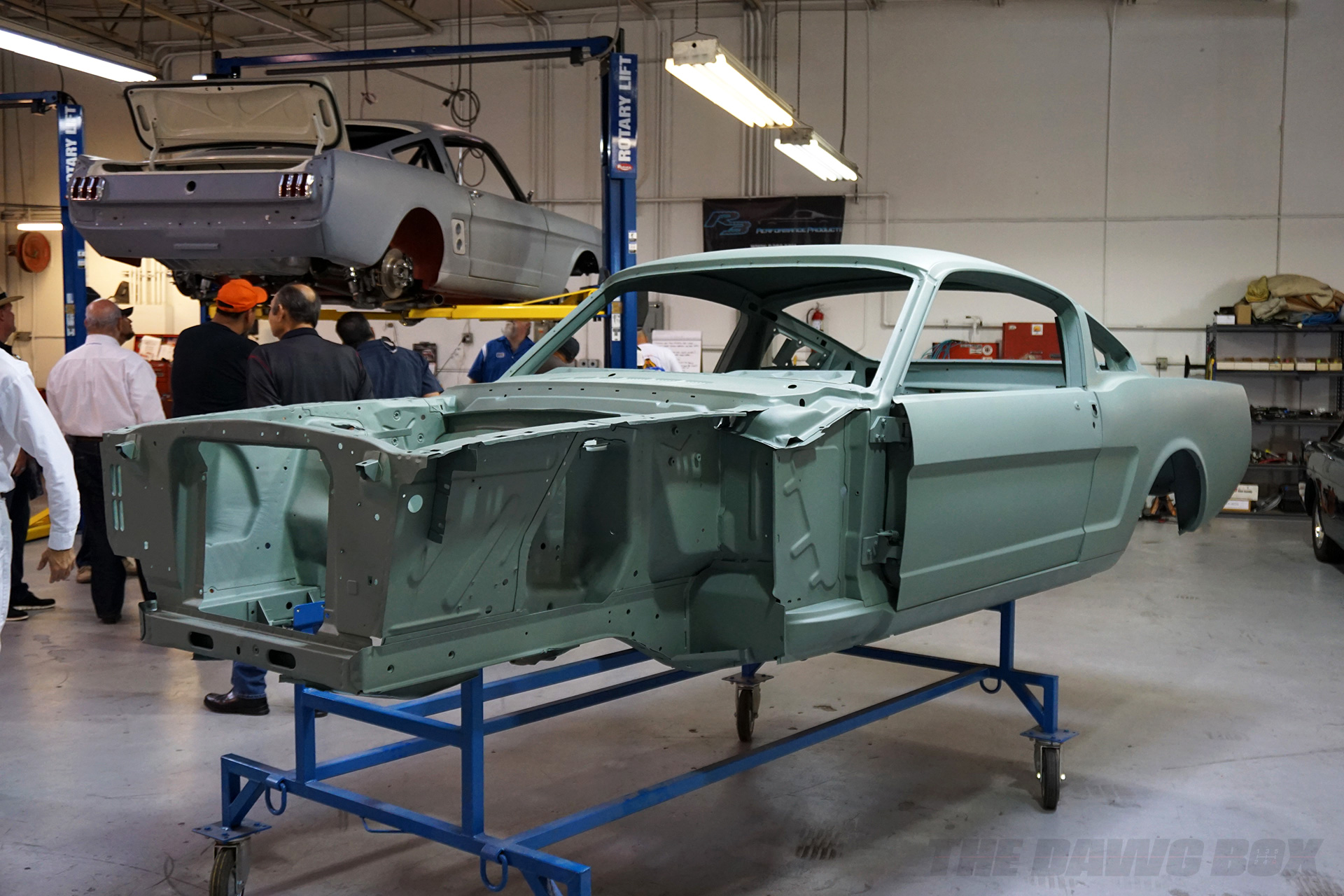 OCV Mustangs, Mustang Body Stripped