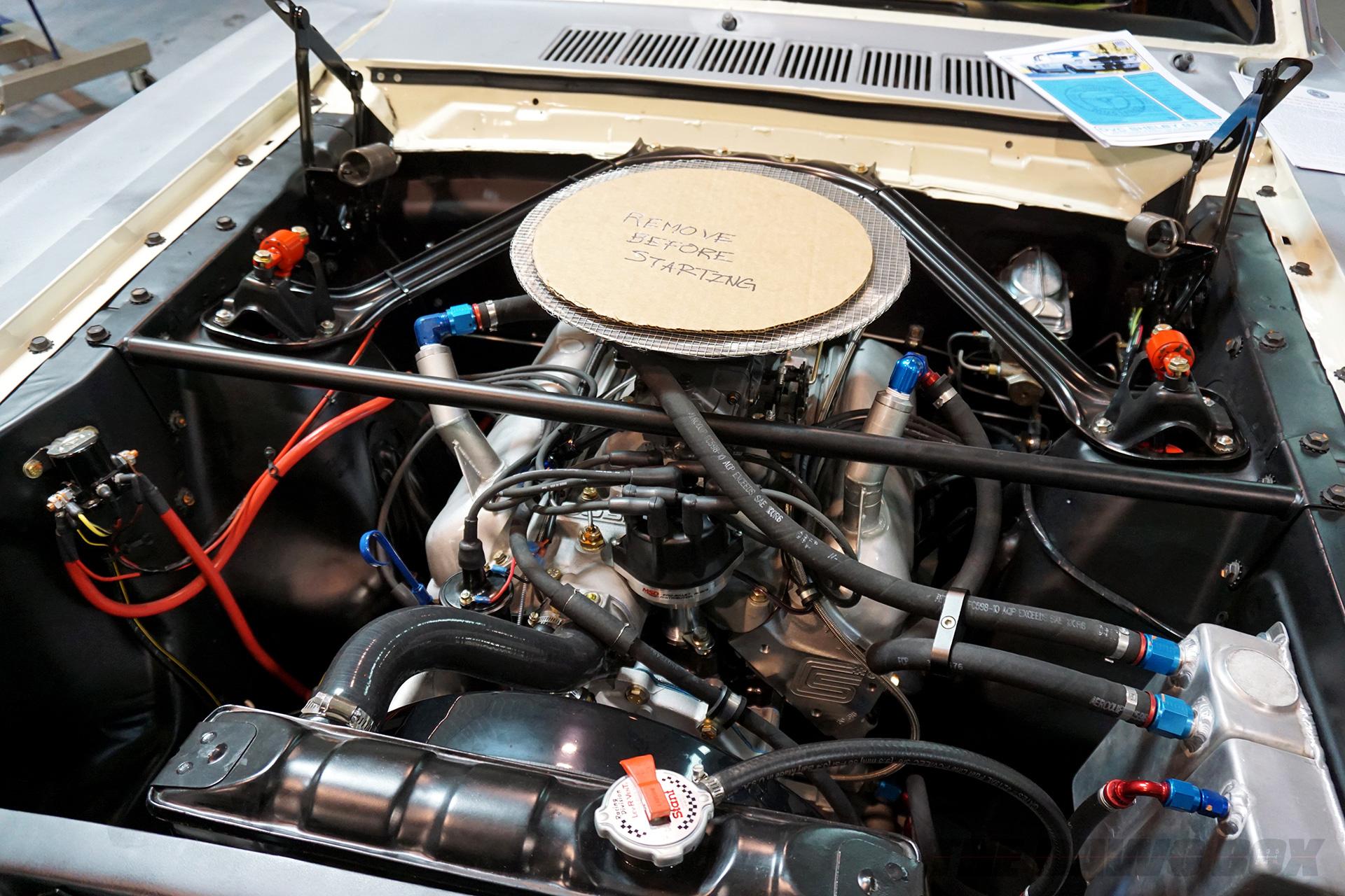OCV Mustangs, Remove Before Starting