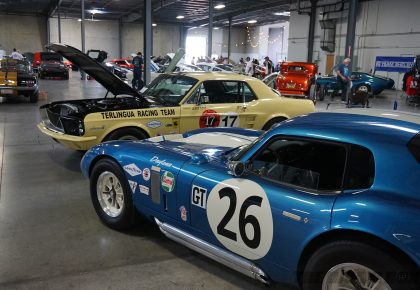LASAAC Carroll Shelby Tribute & Car Show, Car Show