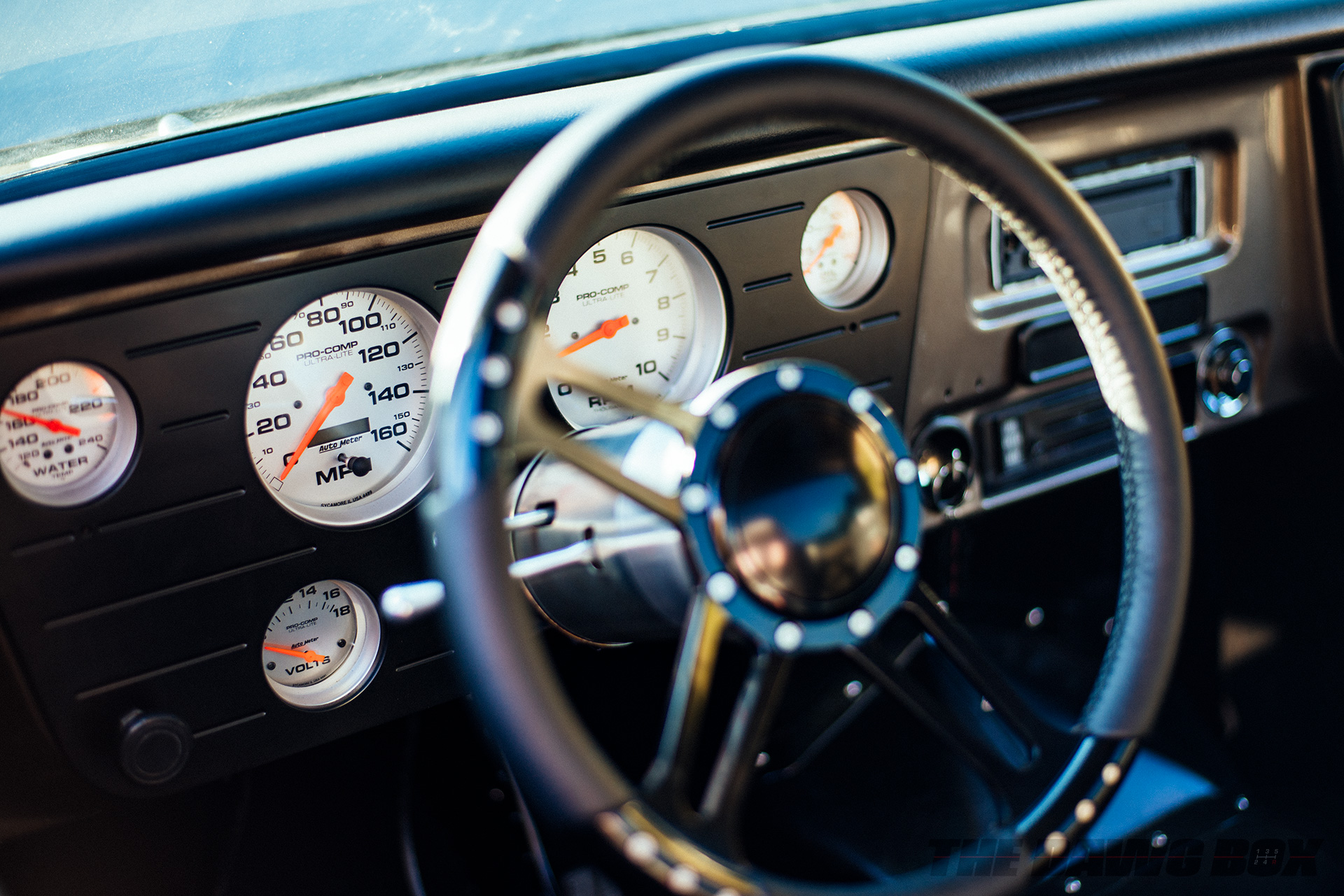 Third Time's The Charm: Dustin Reed's 1972 Chevy C10, Pro-Comp Gauges