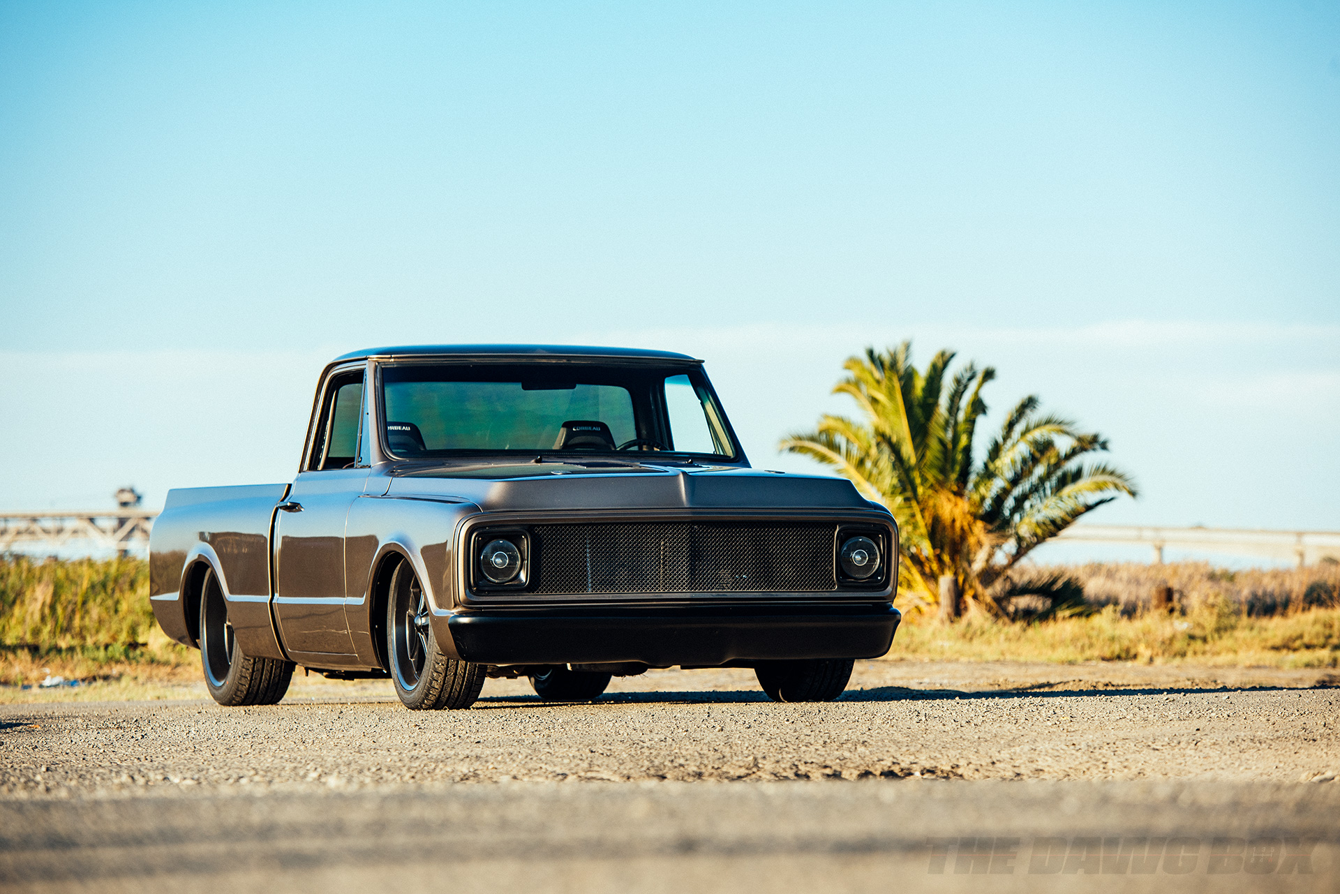 Third Time's The Charm: Dustin Reed's 1972 Chevy C10, Corner View