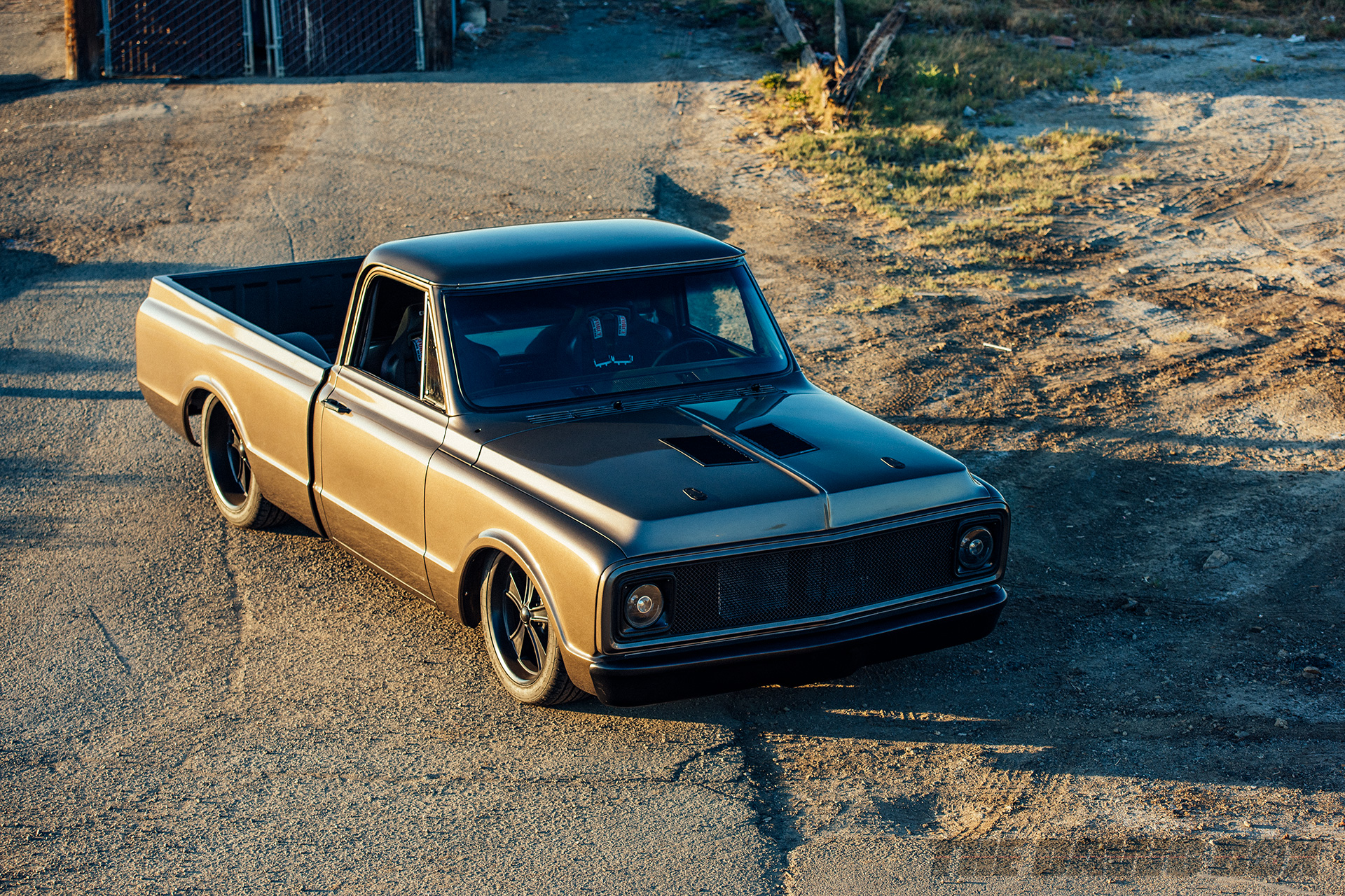 Third Time's The Charm: Dustin Reed's 1972 Chevy C10, Top