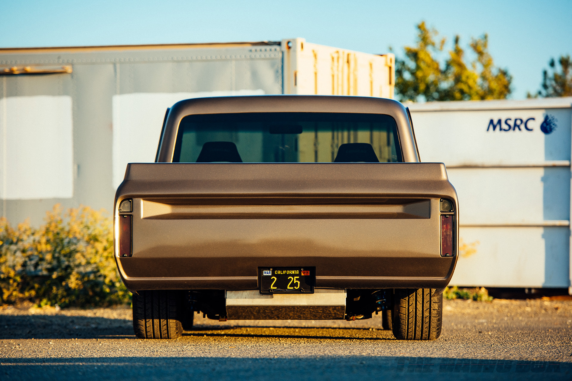 Third Time's The Charm: Dustin Reed's 1972 Chevy C10, Rear