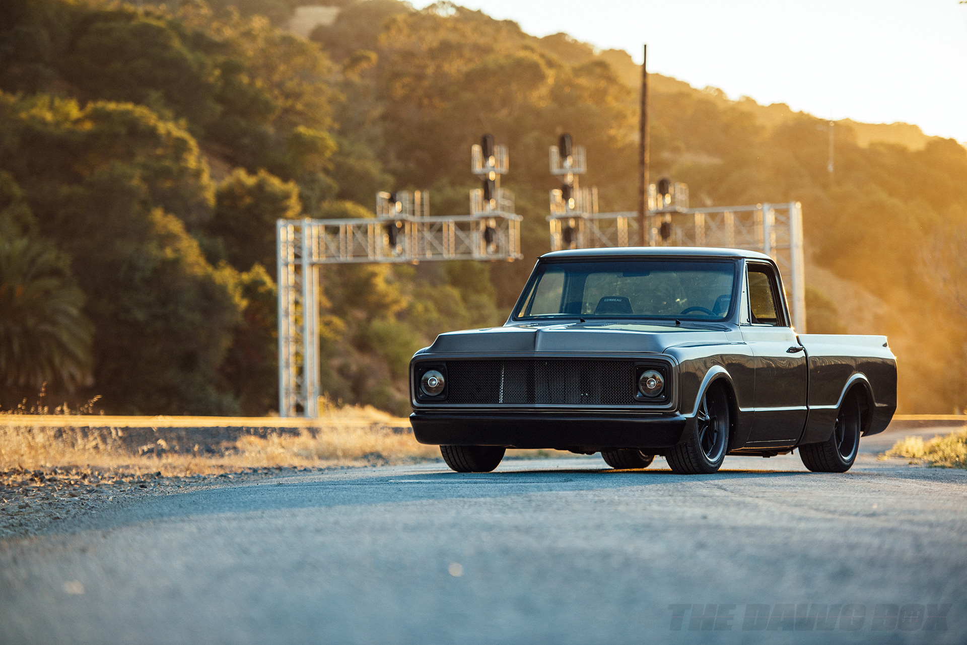 Third Time's The Charm: Dustin Reed's 1972 Chevy C10, Front