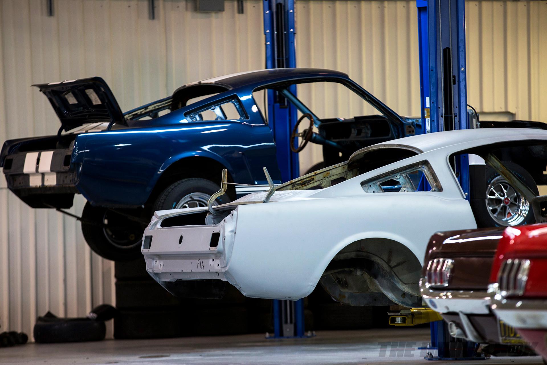 OCV Mustangs, OCV Building Process
